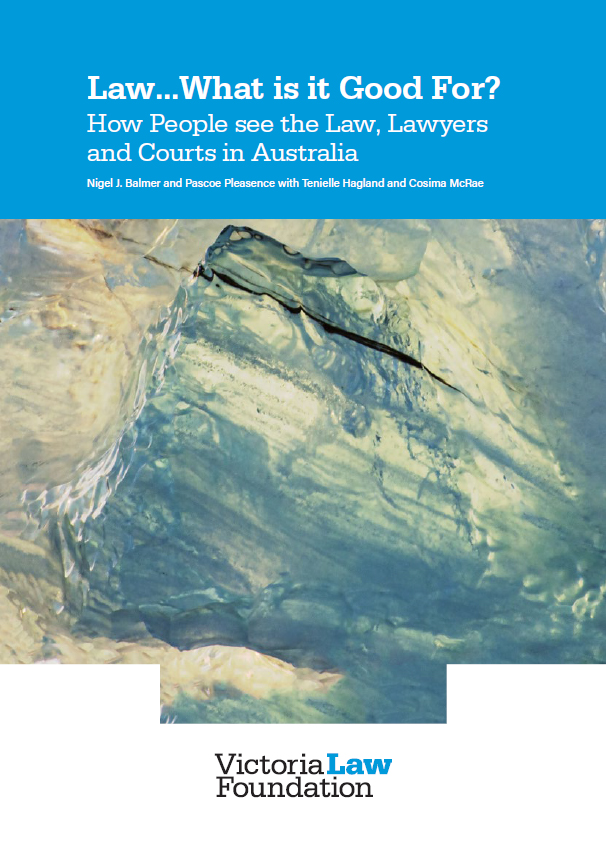 Law... What is it good for? report cover